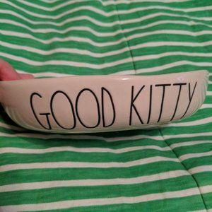 "Rae Dunn ""Good Kitty"" cat dish"